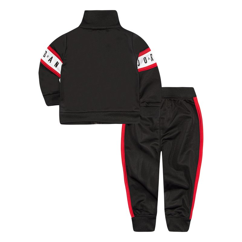 Air Jordan Air Jordan Toddler Tricot Set 'Black' 655639 023
