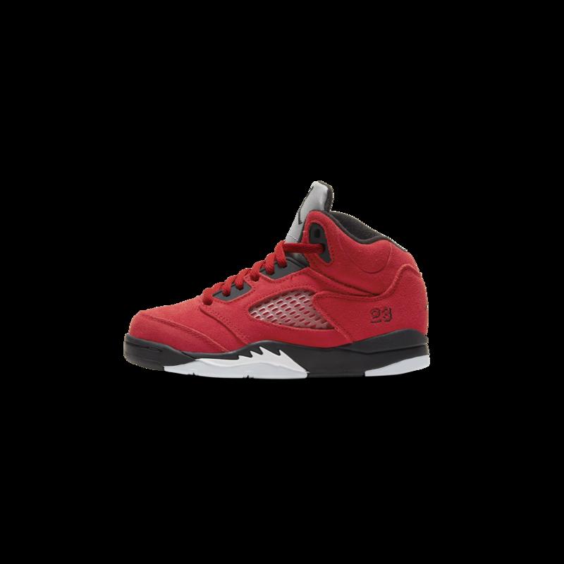 """Air Jordan Air Jordan Retro 5 """"Raging Bull"""" Preschool 440889-600"""