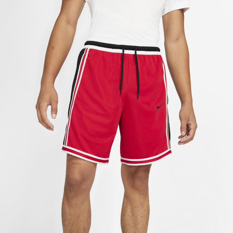 Nike Nike Men's DNA DRI FIT BASKETBALL SHORTS Red/White/Black  CV1897 657