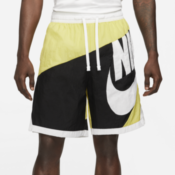 Nike Nike Men's Dri-FIT Throwback Futura Basketball Shorts Yellow/White/Black CV1829 700