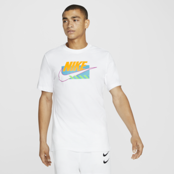 Nike Nike Men's Brandmark Tee White/Multi DB6173 100
