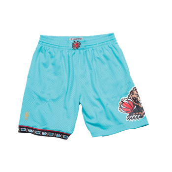 Mitchell & Ness Mitchell & Ness Vancouver Grizzlies Swingman Shorts Teal