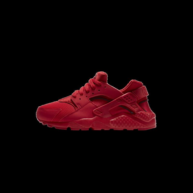 Nike Nike Huarache Run University Red Grade school 654275 600