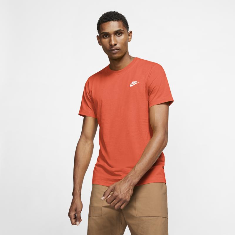 Nike Nike Sportswear Club Shirt Peach Orange AR4997 842