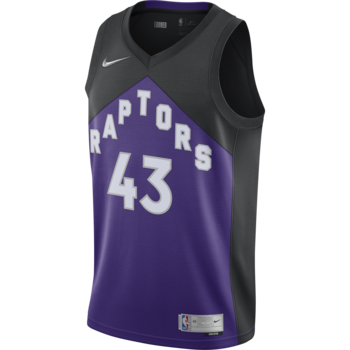 Nike Nike Toronto Raptor's Earned Edition Siakam Jersey Purple/Black CN9979 011