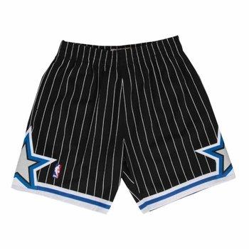 Mitchell & Ness Mitchell & Ness Orlando Magic Swingman Shorts Black/Pin Stripe