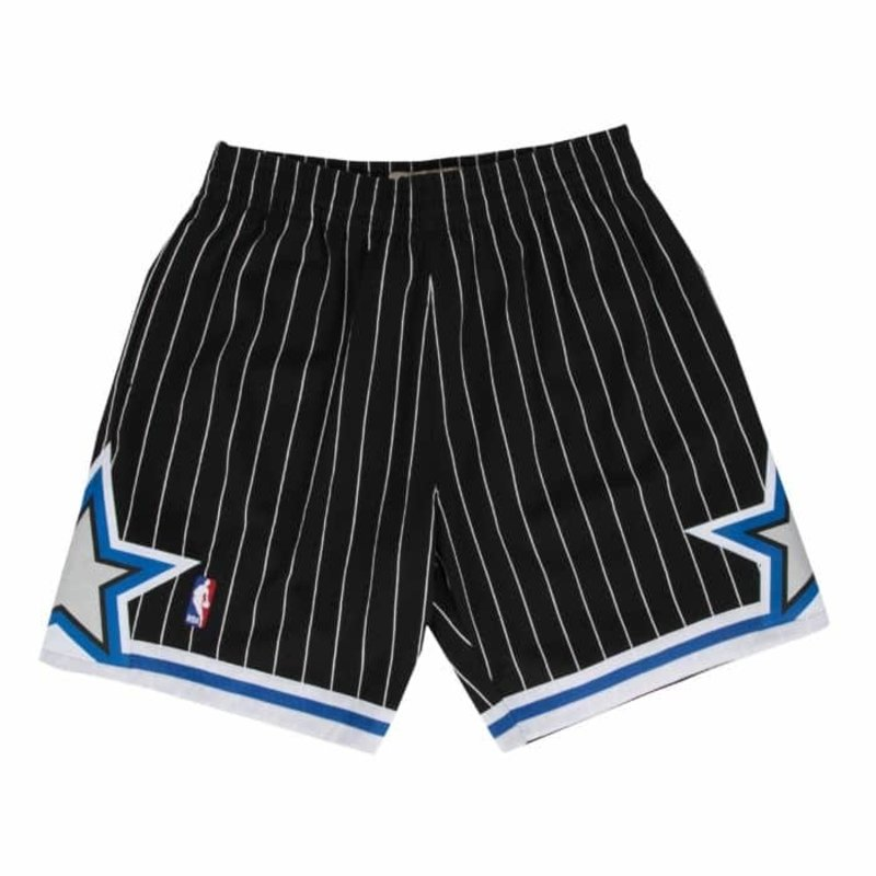 Mitchell & Ness Mitchell & Ness Orlando Magic Swingman Shorts Black/Pin Stripe