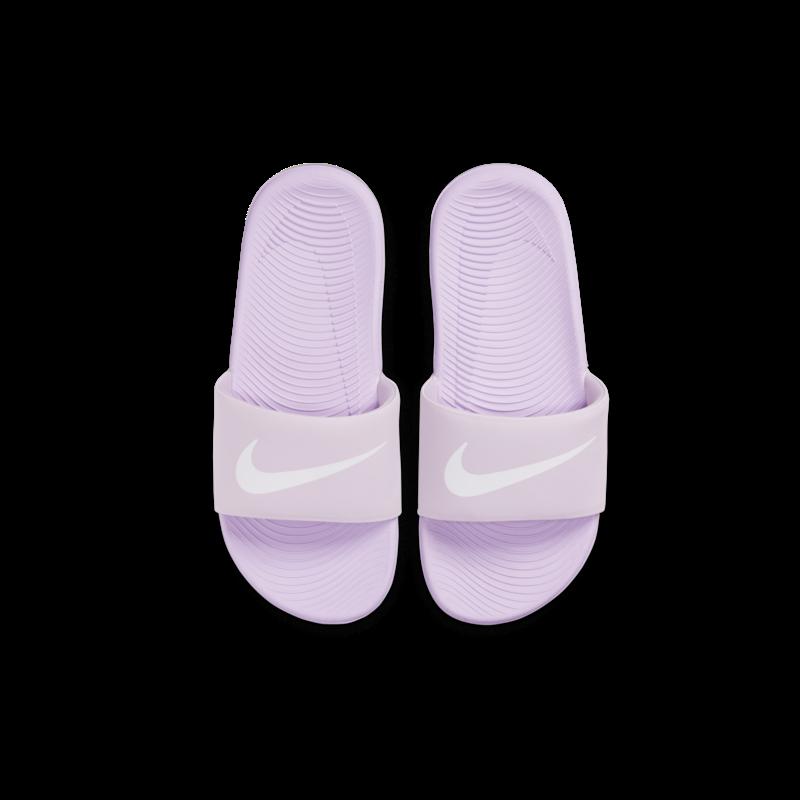 Nike Nike Kawa Slide Iced Lilac/White-Particle Grey (GS/PS) 819352 501