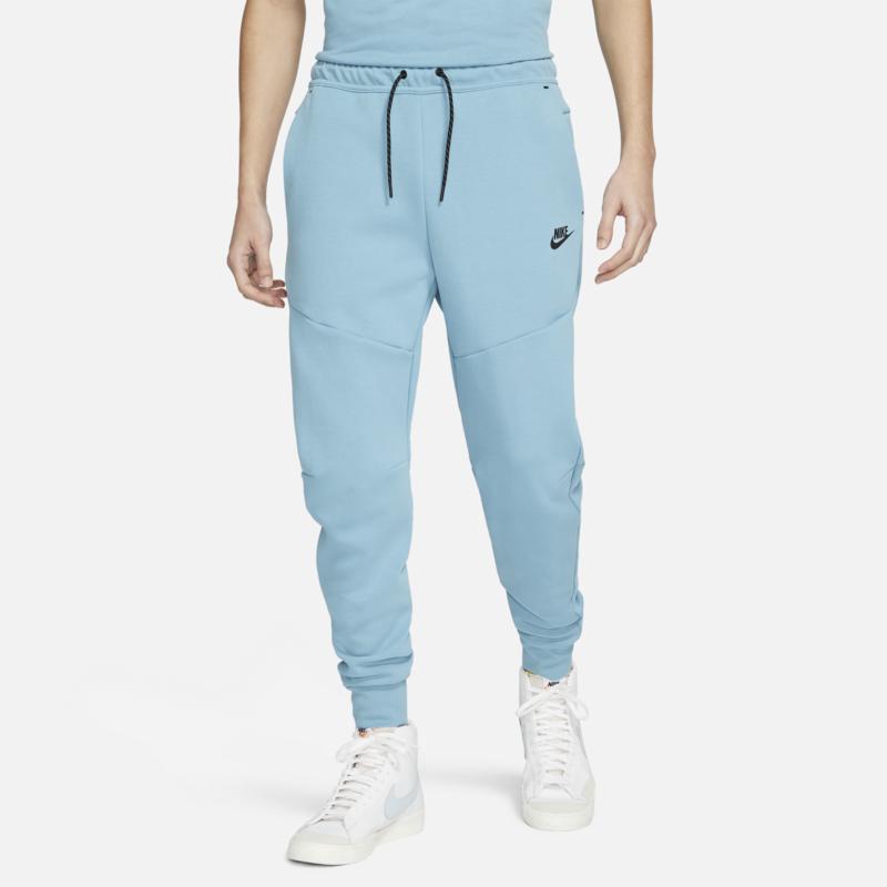 Nike Nike Men's Tech Fleece Pant 'Cerulean/White/Heather Grey/Black' CU4495 424