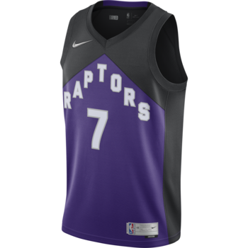 Nike Nike Toronto Raptor's Earned Edition Lowry Jersey Purple/Black CN9979 010