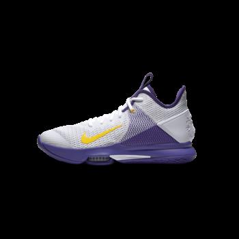 Nike Lebron Witness IV 'White/Amarillo- Field Purple' BV7427 100
