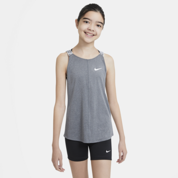 Nike Nike Youth Girls Dri Fit Elastica Tank 'Grey' DA0913 032