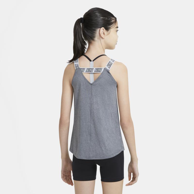 Nike Nike Youth Girls Dri Fit Elastica Tank 'Grey' DA0913 032