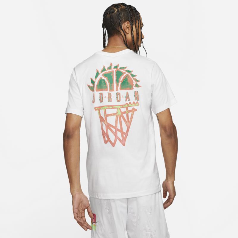 Air Jordan Air Jordan Men's Sport DNA Tshirt 'White' CZ8059 100