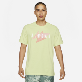 Air Jordan Air Jordan Men's Jumpman Air Tshirt 'Lime' CZ8303 352