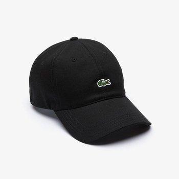 LACOSTE Lacoste Contrast-Strap Twill Cotton Cap 'Black' RK4714 031