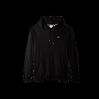 LACOSTE Lacoste Men's Hooded Jersey Tshirt 'Black' TH9349 031
