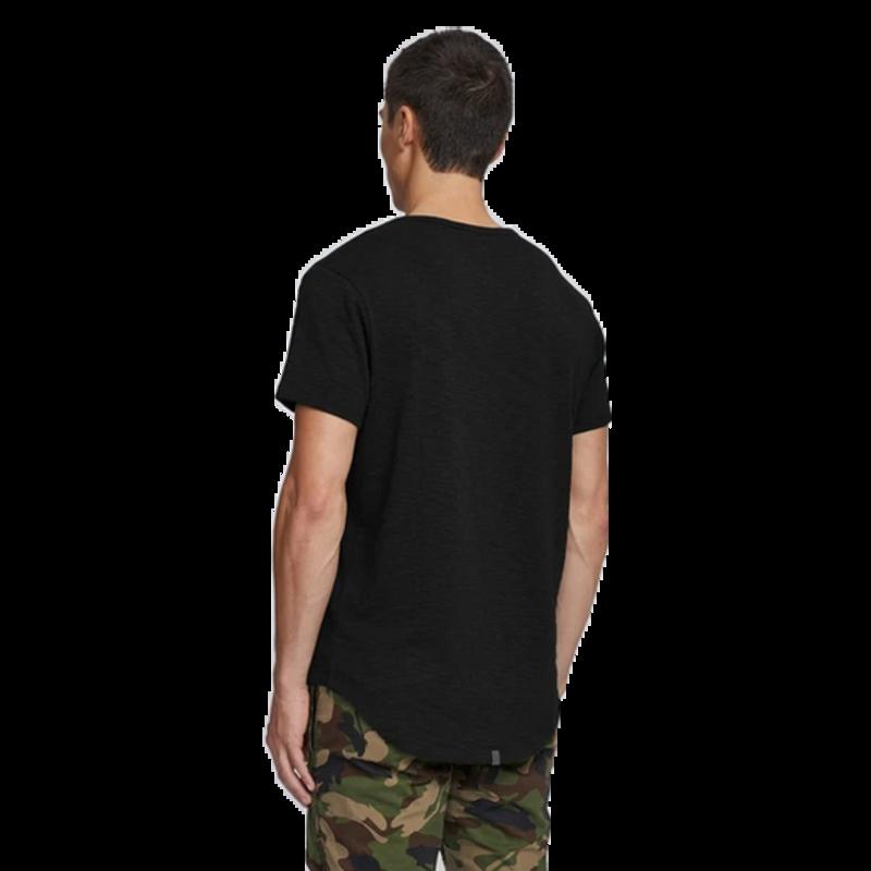 Kuwalla Tee Kuwalla Tee Slub Hi Lo Scoop Shirt KUL-SHL1385 Black