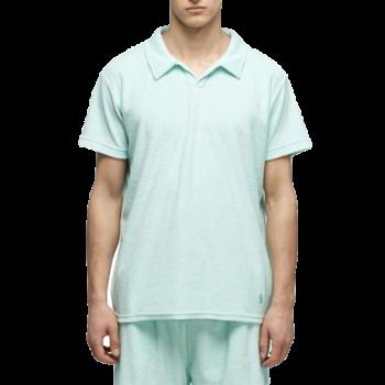Kuwalla Tee Kuwalla Tee Terry Toweling Polo Turquoise KUL-TCP2509