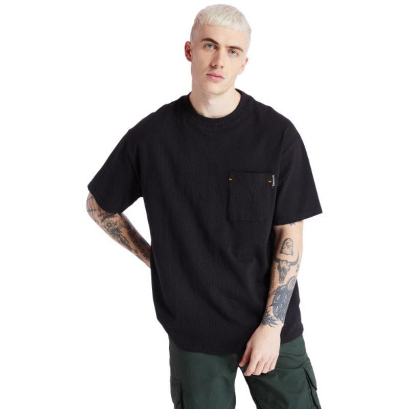 TIMBERLAND Timberland Men's Workwear Tee 'Black' TB0A2ACF