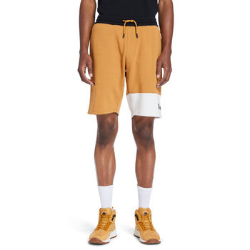 TIMBERLAND Timberland Men's Colorblock Shorts 'Wheat/Cream' TB0A2FGM BR5