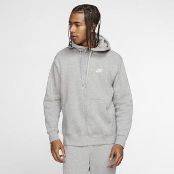 Nike Nike Sportswear Club Fleece Men's Full-Zip Hoodie 'Heather' BV2645 063