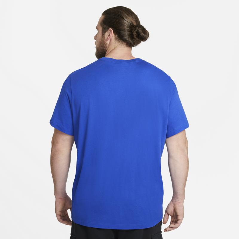 Nike Nike Men's Just do it T-Shirt Royal/White AR5006 480