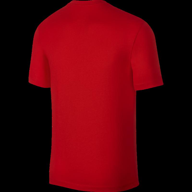 Nike Nike Men's Just do it T-Shirt Black/Red AR5006 657