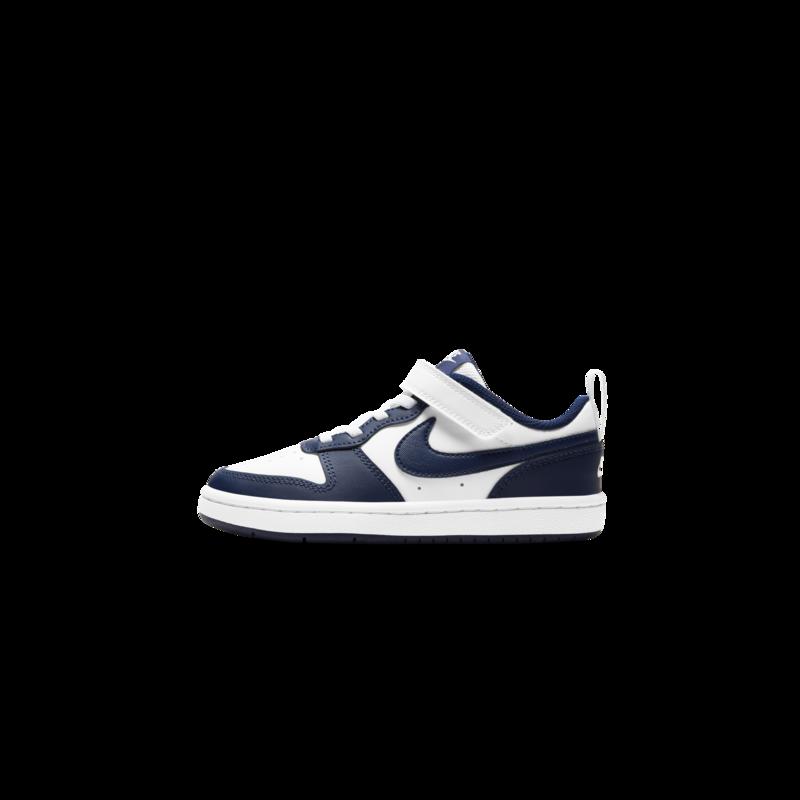 Nike Nike Court Borough Low 2 White/Blue void/Signal Blue (PS) BQ5451 107