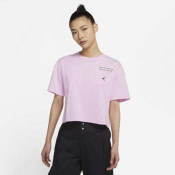 Air Jordan Air Jordan Women's Graphic Tee Pink/Multi DC2153 676