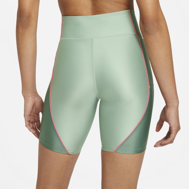 Air Jordan Air Jordan Women's Essential Biker Shorts Dutch Green/Pink DC2177 006