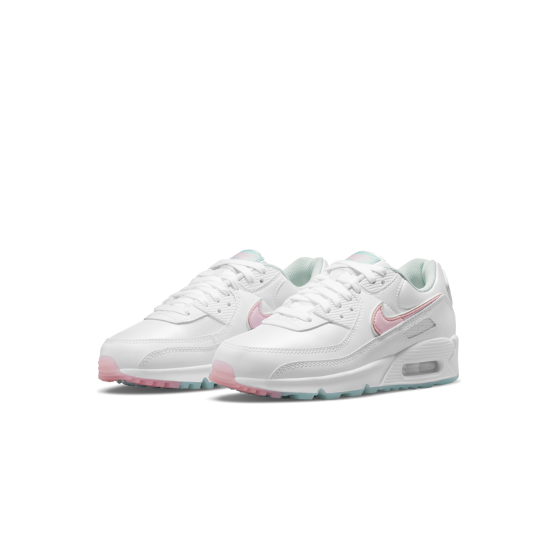 Nike Women's Air Max 90 'White/Arctic Punch' DJ1493 100