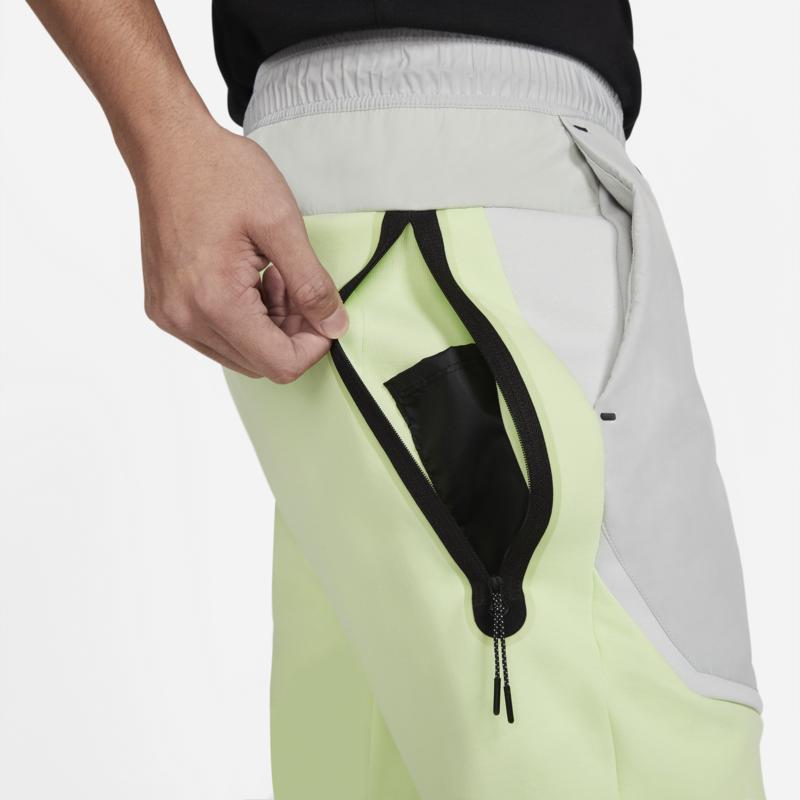 Nike Nike Men's Tech Fleece Woven Joggers Lime CZ9901 383