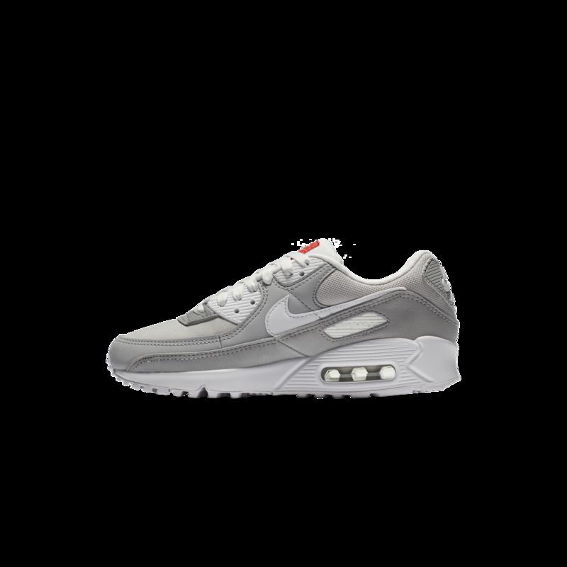 Nike Women Air Max 90 DJ1494-001 Light Smoke Grey White