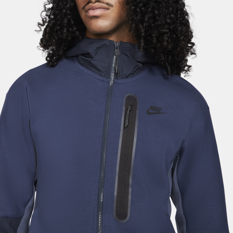 Nike Nike Men's Tech Fleece Woven Zip Up Jacket Navy CZ9903 410