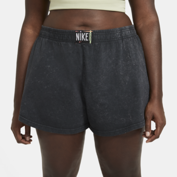 Women's Washed Shorts Nike Sportswear Concrete Black CZ9856 010