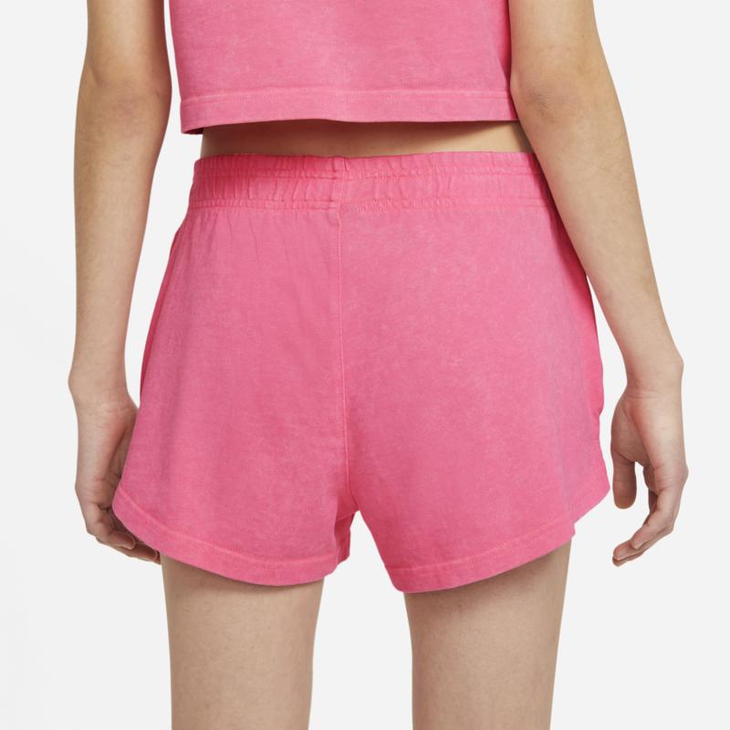Women's Washed Shorts Nike Sportswear Sunset Pulse CZ9856 675