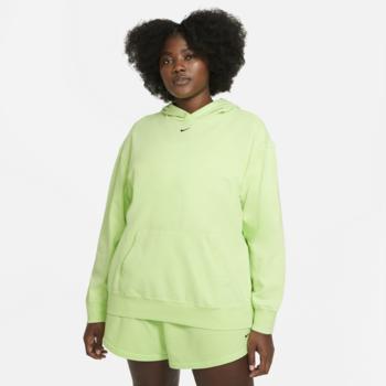 Nike Women's Washed Hoodie Nike Sportswear Ghost Green CZ9854 358