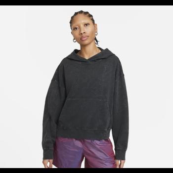 Nike Women's Washed Hoodie Nike Sportswear Concrete Black CZ9854 010