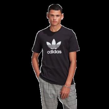 Adidas Adidas Mens Trefoil T-Shirt Black GN3462
