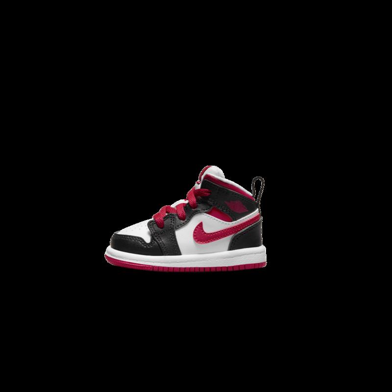 Air Jordan Air Jordan 1 MID TD 'Gym-Red Black' 640735 122