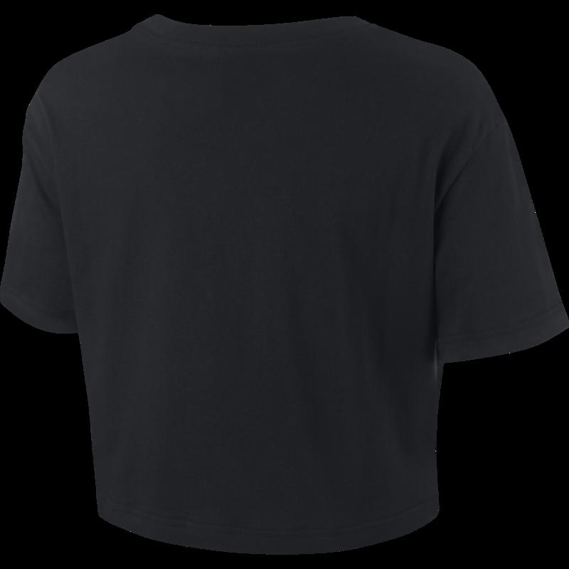 Nike Nike Women's Cropped Tee Black/White BV6175 010