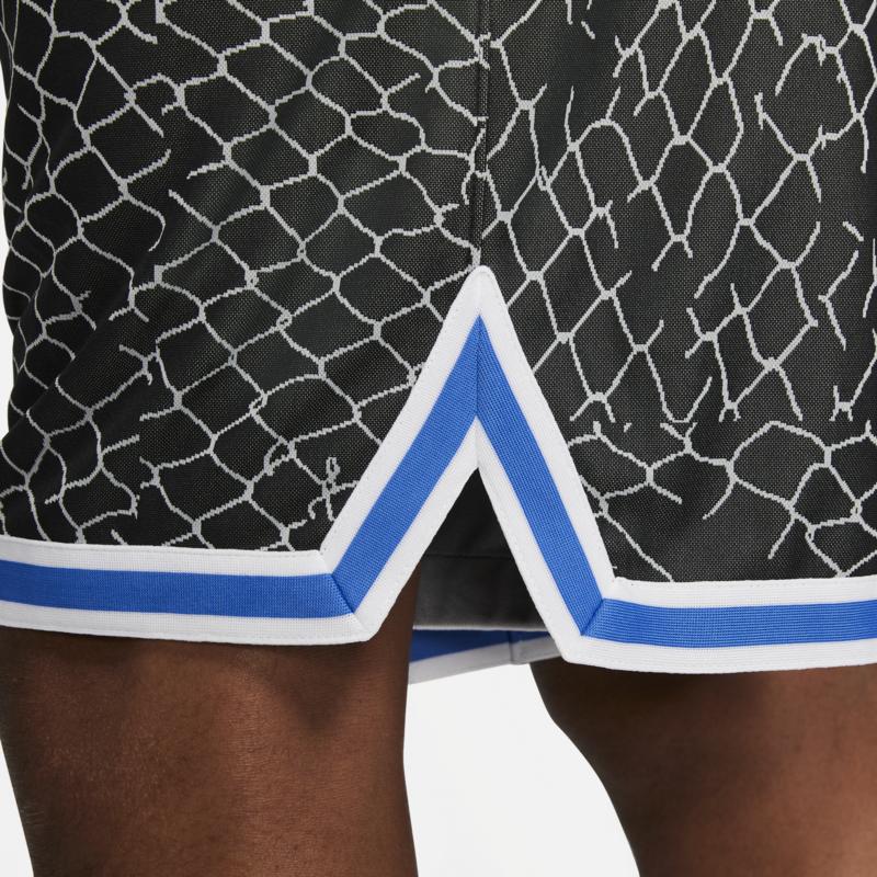 Nike Nike Basketball Mens UAS Shorts Blue/Yellow/White DA3026 403