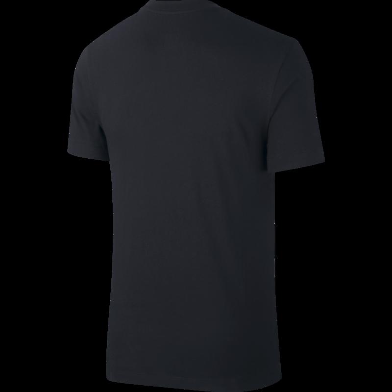 Nike Nike Mens Sportswear Heritage Tee Black/red/White AR4993 013