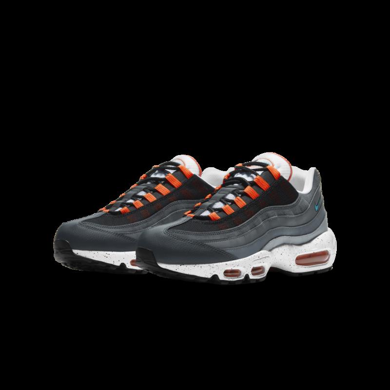 Nike Nike Mens Air Max 95 Black/Aquamarine-Turf Orange CZ0191 001