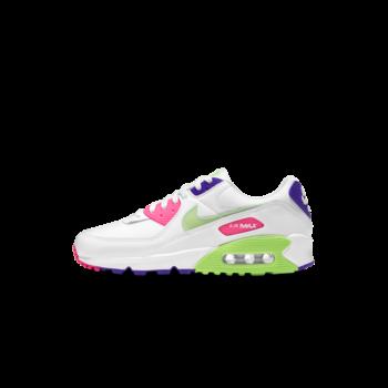 Nike Nike Women's Air Max 90 White Neon DH0250 100