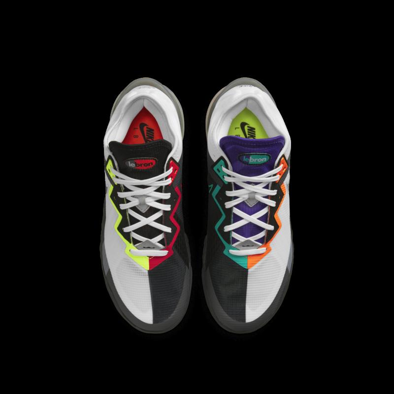 "Nike Nike Men's Lebron 18 Low ""Greedy"" CV7562 100"