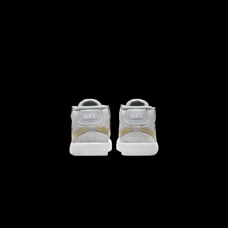 Nike Nike Blazer Mid '77 Suede Toddler Lt Smoke Grey/Metallic Gold Star DD1851 002
