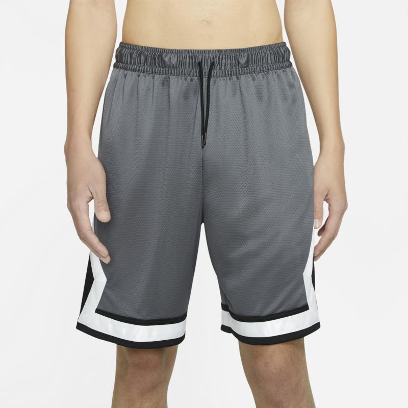 Air Jordan Air Jordan Men's Diamond Knit Shorts Grey/White CV6022 068