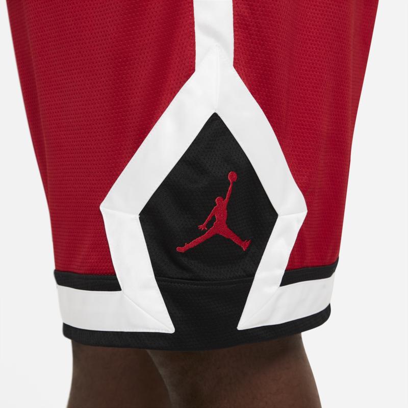 Air Jordan Air Jordan Men's Diamond Knit Shorts Red/Black/White CV6022 687